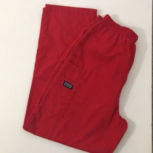 ❤️NEW LISTING❤️  Cherokee Scrub Pants, Red